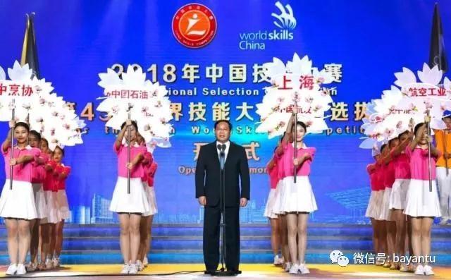 2018年中国技能大赛—第45届世界技能大赛